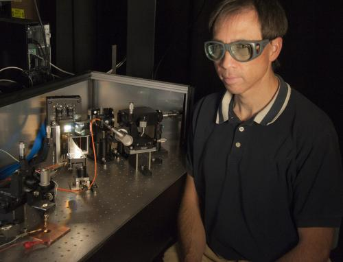 Novel NIST laser system mimics sunlight to test solar cell efficiency
