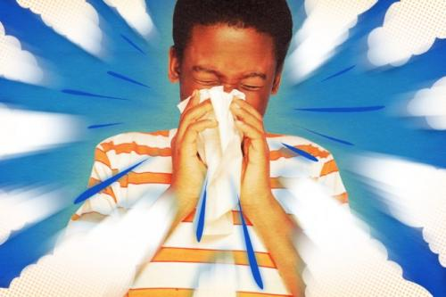Novel study uncovers the way coughs and sneezes stay airborne for long distances