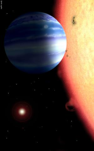 NRL researchers detect water around a hot Jupiter