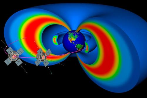 Observations and simulations improve space weather models