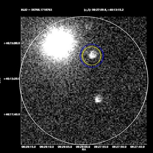 Observed by Texas telescope: Light from huge explosion 12 billion years ago reaches Earth