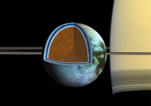 Ocean on Saturn Moon Could be as Salty as the Dead Sea