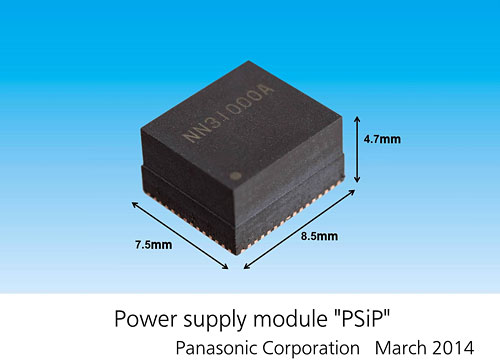 Panasonic announces 'PSiP' power supply module with 50% smaller footprint
