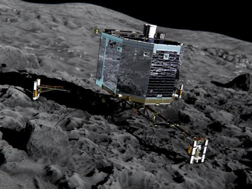 Philae probe landing on 67/P Churyumov-Gerasimenko comet next autumn