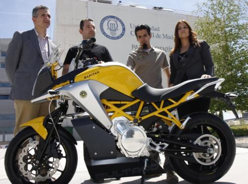 R+D to develop an intelligent new high performance electric motorcycle