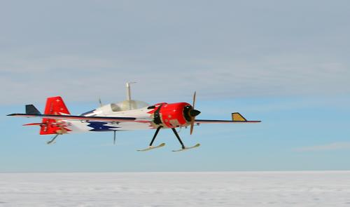 Remotely operated aircraft successfully tested as tool for measuring changes in polar ice sheets