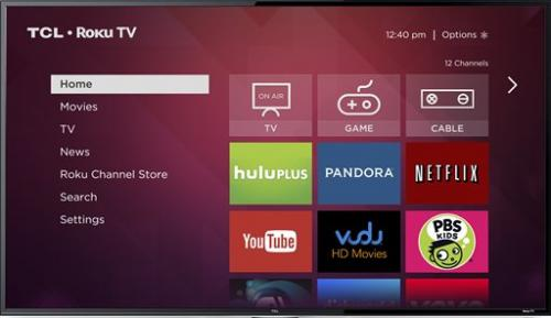 Roku TV will stream video without set-top box