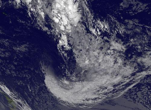 Satellite confirms Tropical Cyclone Mike's quick disappearing act