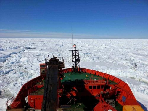 Scientists at work: Stuck in the Antarctic ice we set out to study
