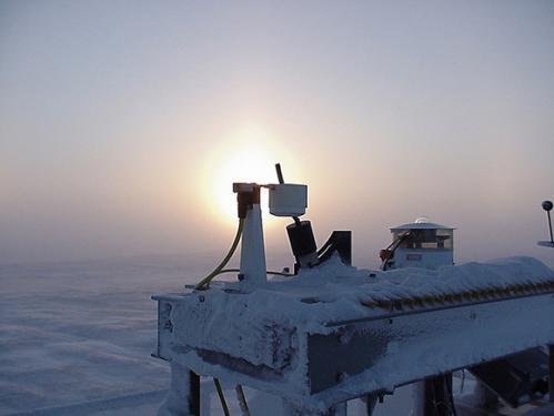Scientists improve detection of Arctic clouds