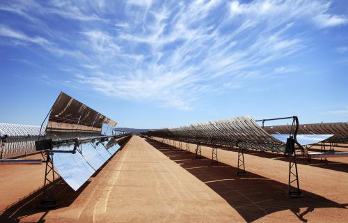 Self-cleaning solar panel coating optimizes energy collection, reduces costs