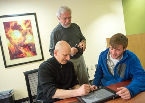 Senior Project Turns Into Successful Tech Start-up to Help the Blind
