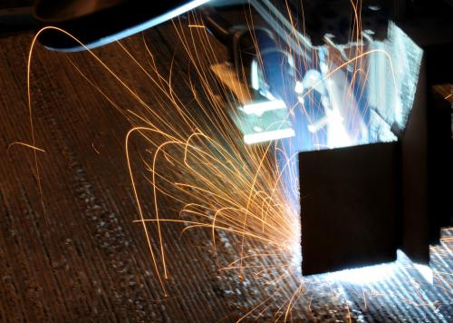 Soft metal weld makes for stronger infrastructure