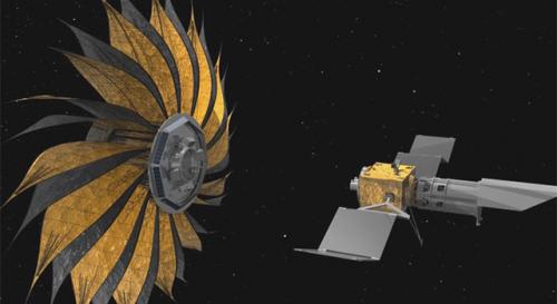 Space sunflower may help snap pictures of planets