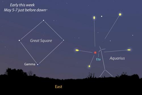 Stay up late for tonight's Eta Aquarid meteor shower