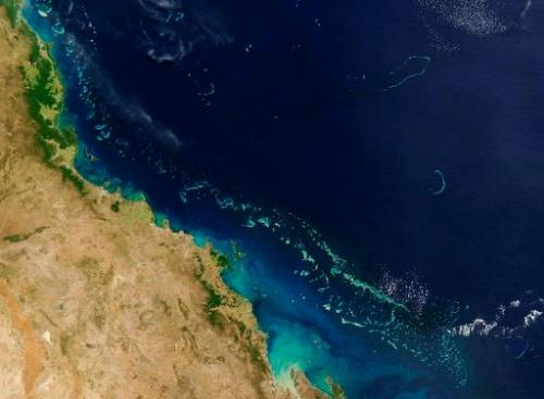 Stretching along more than 2,000 km (1,200 miles) of Australia's eastern coast is one of the world's formost natural wonders - T