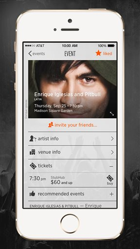 StubHub Music app takes on Live Nation in concerts