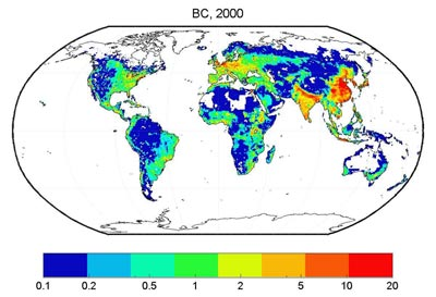 Study shows airborne black carbon soot much worse than thought in China and India