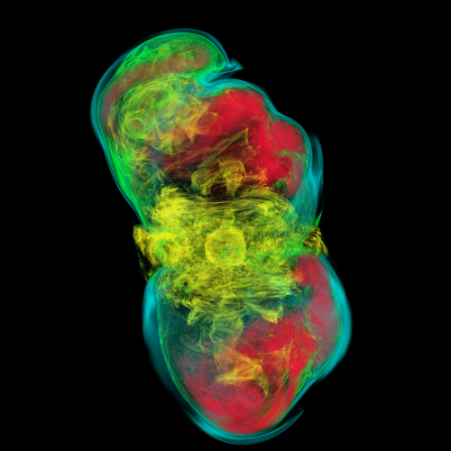 Supercomputer-powered supernova simulations shed light on distant explosions