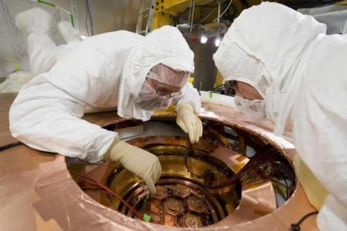 SU plays key role in search for elusive dark matter