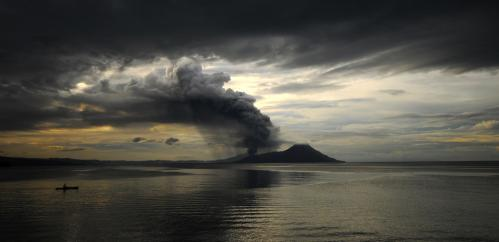Tavurvur in Papua New Guinea is the latest volcano to watch