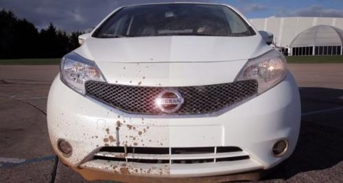 Nissan develops first 'self-cleaning' car prototype (w/ Video)