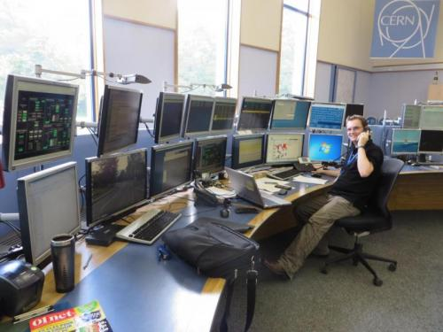 Technical troubleshooting at the CERN Control Centre