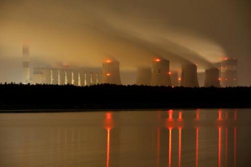 The Belchatow power plant on September 28, 2011 in Belchatow, near Lodz in  central Poland