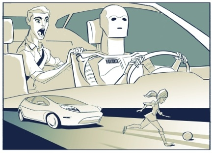 The ethics of driverless cars