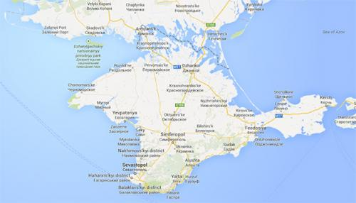 The mapmaker's dilemma: How do you solve a problem like Crimea?