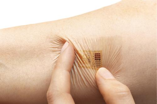 The next generation of electronics is a press-on tattoo