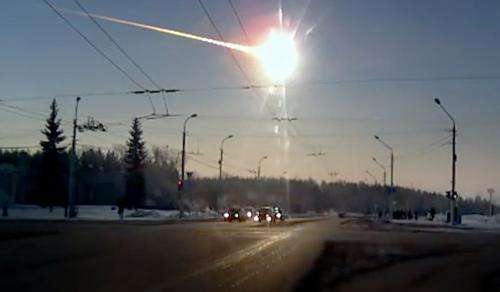 The power of the Chelyabinsk meteor
