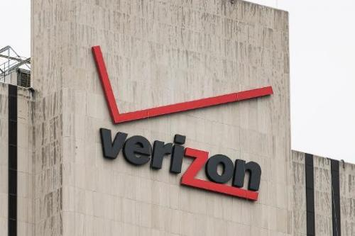 The Verizon Building in Manhattan is seen from the Brooklyn Bridge on June 6, 2013 in New York City