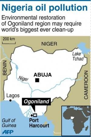 Three years ago, a United Nations Environment Programme report said the Ogoniland area may require the world's biggest-ever clea