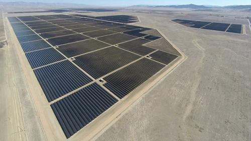 Topaz Solar Farm in California is up and running