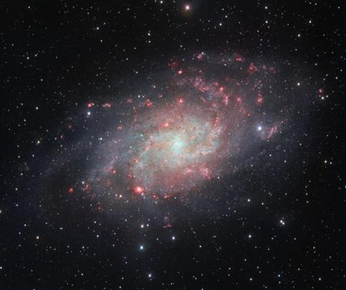 Triangulum galaxy snapped by VST
