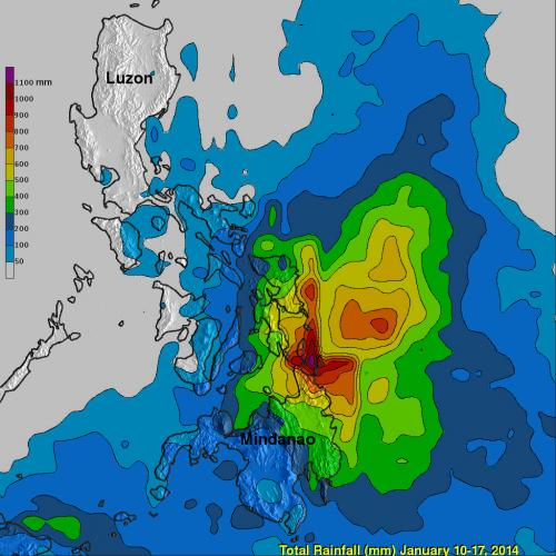 TRMM satellite calculates System 91W's deadly Philippine flooding