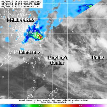 Tropical cyclone lingling wraps up in Northwestern Pacific
