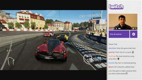 Twitch live game broadcasting coming to Xbox One