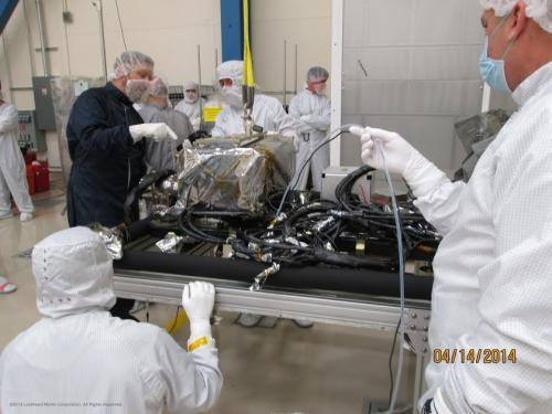 Two GOES-R instruments complete spacecraft integration