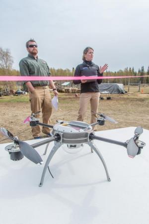 UAF unmanned aircraft site conducts first test flight