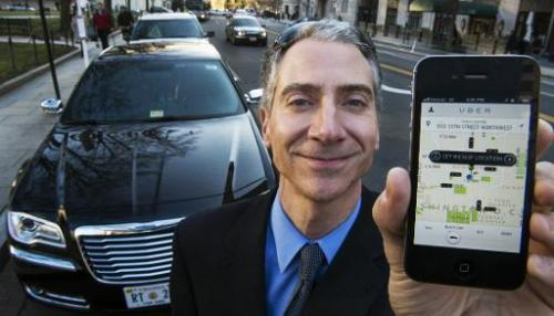 Uber pulls into dining and travel smartphone applications as the Internet age car-hailing service moves to park itself at the he
