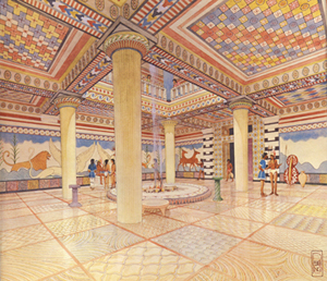 UC Research Uncovers How Ancient Artists Used Palace Floor as a Creative Canvas