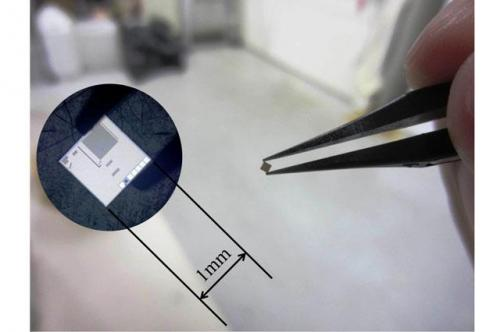 Ultra-compact implantable image sensor using body channel communication