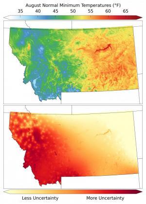 UM research improves temperature modeling across mountainous landscapes
