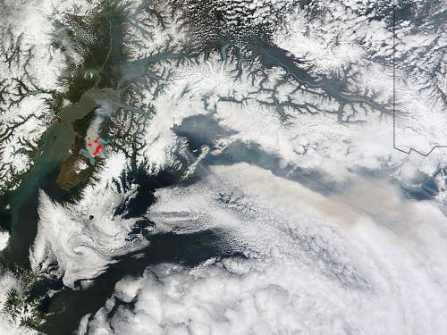 Update on Funny River Fire, southern Alaska