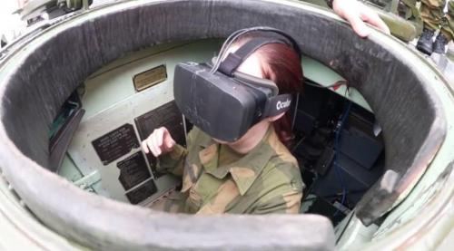 Norwegian army testing Oculus Rift virtual goggles system for tank drivers