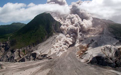 Volcanic eruptions may affect oceanic microbial processes