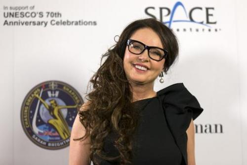 British singer Sarah Brightman is in training with cosmonauts and astronauts from NASA to prepare for her trip to space   Read more at: http://phys.org/news/2015-03-space-soprano-duet-iss.html#jCp