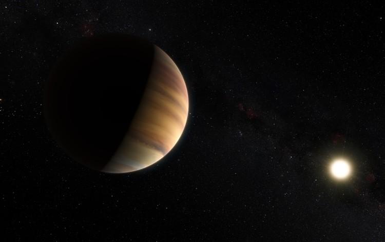 exoplanet landscape orbiting giant planet - photo #33